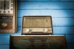 Giocatore radiofonico d'annata fotografia stock