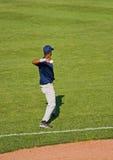 Giocatori di baseball Immagine Stock Libera da Diritti