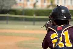Giocatori di baseball Fotografia Stock