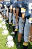 Giocatori di football americano Immagine Stock Libera da Diritti