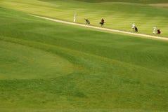Giocatori di golf Fotografia Stock Libera da Diritti