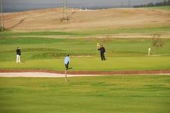 Giocatori di golf Immagine Stock