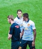 Giocatori di Manchester United Fotografia Stock Libera da Diritti
