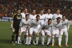Giocatori di Real Madrid Immagini Stock