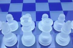 Giocatori di scacchi immagine stock