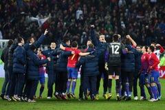 Mezzi di FC Steaua Bucarest FC Gaz Metan Immagine Stock Libera da Diritti