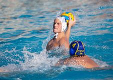 Giocatori di Waterpolo Fotografia Stock