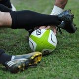 Giocatori non identificati di rugby durante la Romania contro Georgia in tazza europea di nazioni allo stadio nazionale Immagine Stock