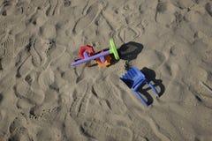Giocattoli abbandonati Fotografie Stock Libere da Diritti