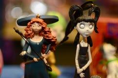 Giocattoli di Figurins Fotografia Stock Libera da Diritti