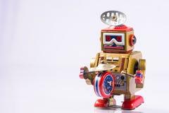 Giocattoli classici del robot Fotografia Stock Libera da Diritti