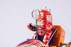 Giocattoli classici del robot immagini stock
