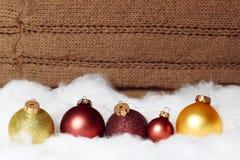 Giocattoli del nuovo anno Fotografia Stock
