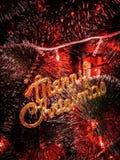 Giocattoli dell'albero di Natale fotografia stock libera da diritti