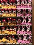 Giocattoli della peluche di Minnie Mouse immagini stock
