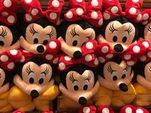 Giocattoli della peluche di Minnie Mouse fotografie stock