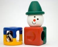 Giocattoli della plastica del bambino Fotografia Stock
