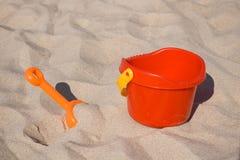 Giocattoli della spiaggia fotografie stock libere da diritti