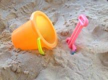 Giocattoli della spiaggia Immagini Stock Libere da Diritti