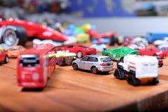 Giocattoli delle automobili Fotografia Stock Libera da Diritti