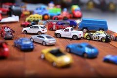 Giocattoli delle automobili Immagine Stock