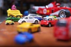 Giocattoli delle automobili Immagini Stock