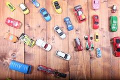 Giocattoli delle automobili Fotografia Stock