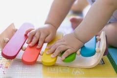 Giocattoli di Baby's, giocanti per imparare Immagine Stock