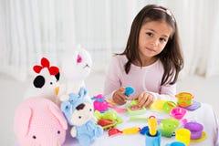 Giocattoli di Girl's Fotografia Stock