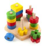 Giocattoli di legno Fotografie Stock