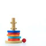 Giocattoli di legno Immagini Stock