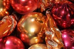 Giocattoli di Natale Fotografie Stock
