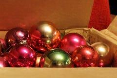 Giocattoli di Natale Fotografia Stock