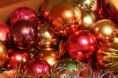 Giocattoli di Natale Immagini Stock