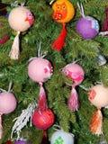 Giocattoli di Natale come fondo Fotografia Stock