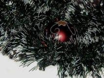 Giocattoli di natale sull'albero di Natale Immagine Stock Libera da Diritti