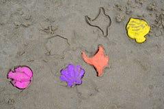 Giocattoli di plastica dei bambini Fotografia Stock Libera da Diritti
