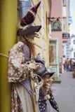 Giocattoli di vecchia città a Tallinn, Estonia Fotografie Stock