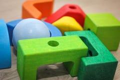 Giocattoli educativi per i bambini Fotografia Stock