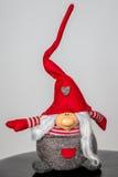 Giocattoli fatti a mano dell'elfo di Natale immagine stock libera da diritti