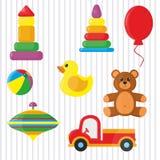 Giocattoli per i bambini illustrazione di stock