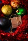 Giocattoli per il Natale Fotografia Stock Libera da Diritti