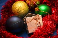 Giocattoli per il Natale Fotografie Stock