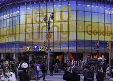 Giocattoli ' R ' noi memoria di nave ammiraglia in Times Square Fotografia Stock