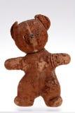 Giocattoli, ritratto di vecchio orso dell'orsacchiotto fotografia stock libera da diritti