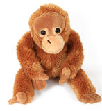 Giocattoli: scimmia Fotografie Stock Libere da Diritti