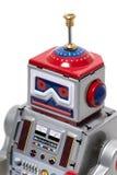 Giocattolo d'annata del robot della latta Immagine Stock Libera da Diritti