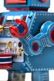 Giocattolo d'annata del robot della latta Fotografia Stock Libera da Diritti