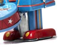 Giocattolo d'annata del robot della latta Immagini Stock Libere da Diritti