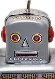 Giocattolo d'annata del robot della latta Immagine Stock